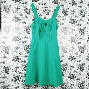 A New Day keyhole bow front dress with pockets